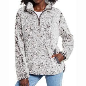 Thread & Supply Fuzzy Sherpa 1/4 Zip Pullover